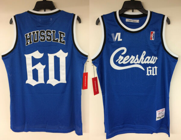 Nipsey Hussle Crenshaw Victory Lap Cover Authentic Basketball Hip Hop Rap Jersey