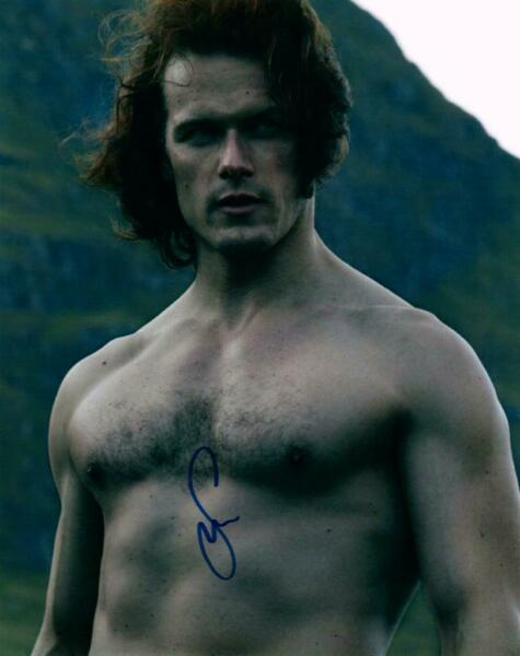 Sam Heughan Signed 8x10 Photo Autographed Picture + COA