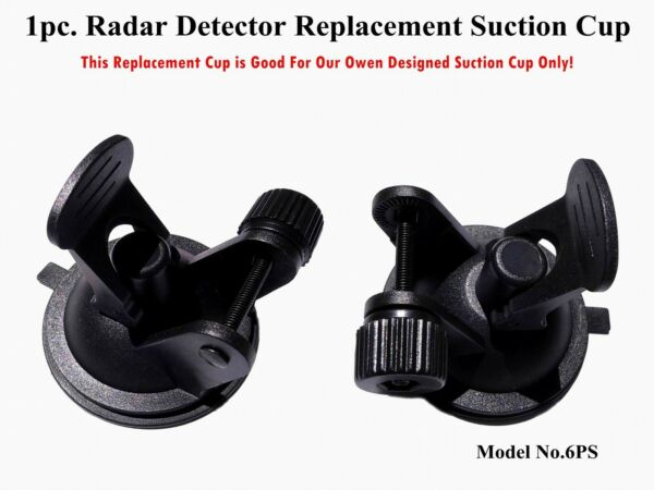 Super Grip Replacement Suction Cup Mount For The Radar Detectors NO LATCH $8.00