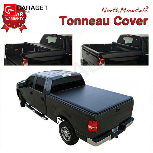 For 2017 2019 Honda Ridgeline Lock amp; Roll Up Soft Tonneau Cover