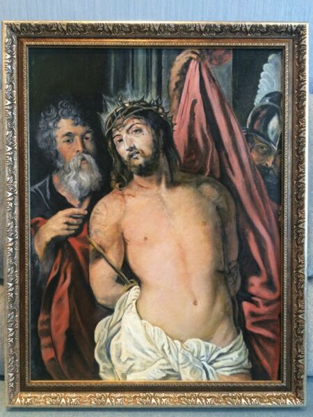 Christ with the Crown of Thorns (Peter Paul Rubens) Painting reproduction