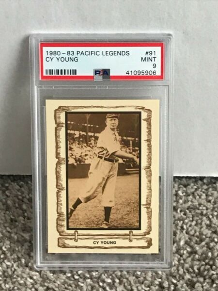 1980 - 83 Pacific Legends #91 - CY YOUNG - PSA 9 Mint