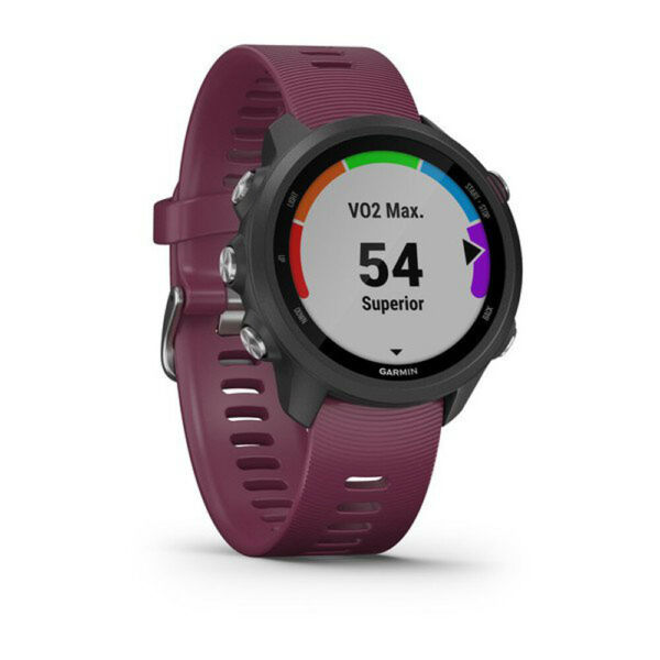 Garmin Forerunner 245 GPS Sport Watch w Wrist-Based Heart Rate Monitor - Berry