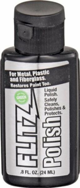 Flitz Liquid Metal Polish for Metal Plastic & Fiberglass 50 mL Bottle #LQ04502