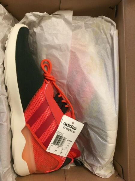 Adidas ZX 8000 Boost Red Black White Size 12 In Box