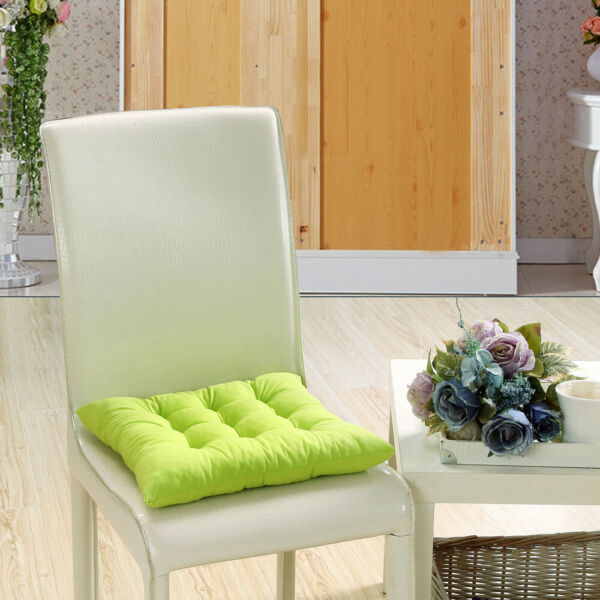 Indoor Outdoor Dining Garden Patio Soft Chair Seat Pad Cushion Home Decor 16