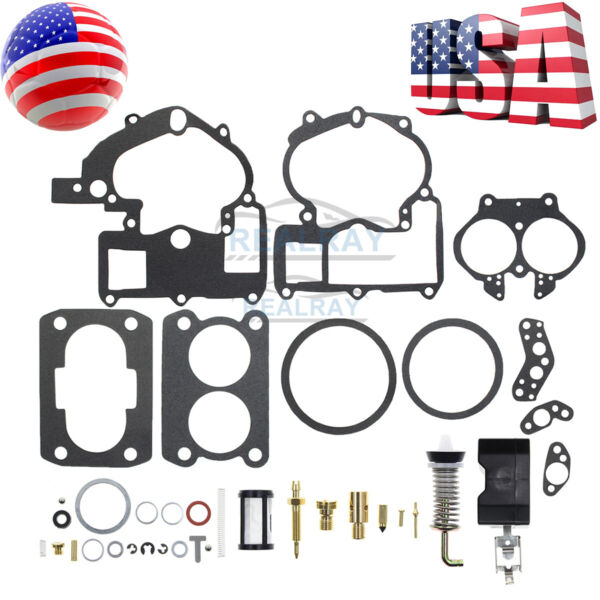 Carburetor Kit For 2 barrel Rochester 2GC inboard Marine Mercruiser 1397 6367 $12.40