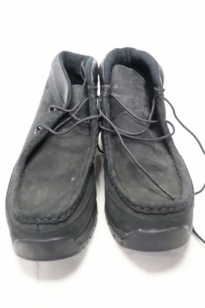 Timberland Black Wallabee Ankle String Up Boots Sz 9 $60.00