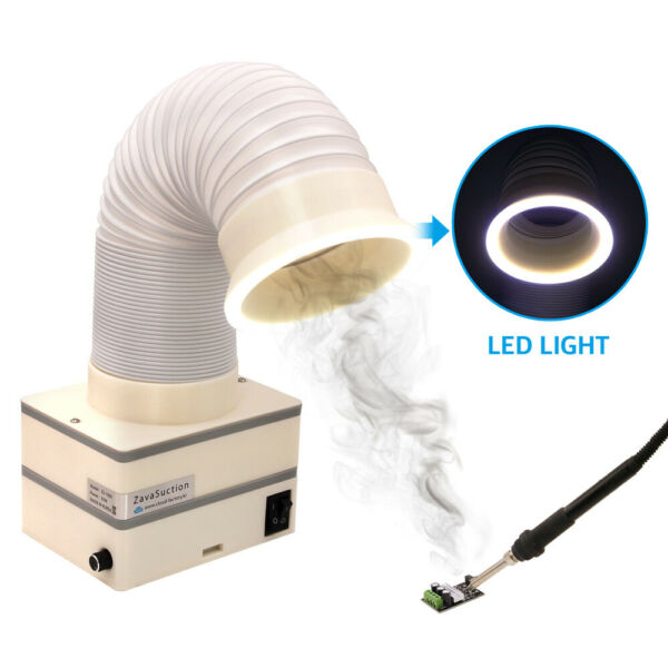 Soldering Smoke Absorber Remover Fume Extractor Fan - Zavasuction Type C