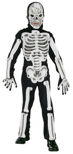 Scary Eva Skeleton Childrens Halloween Costume
