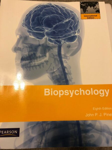 Biopsychology: International Edition by Pinel John P.J. Paperback Book The Fast