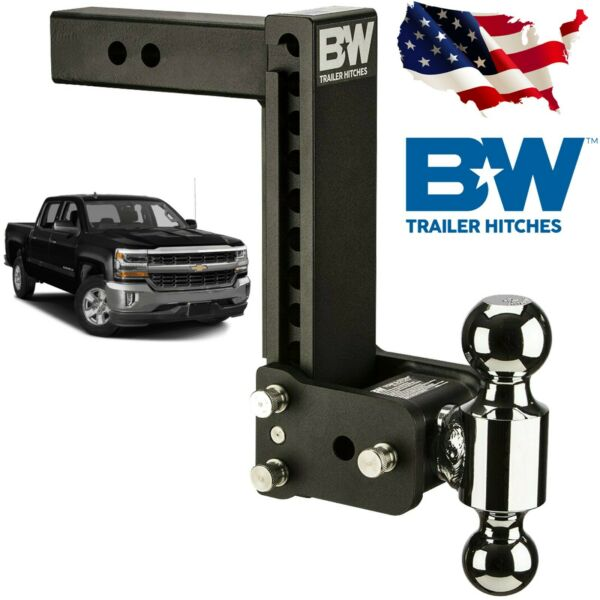 Bamp;W Tow and Stow Hitch for Ball Mount 9quot; Drop 9 1 2quot; Rise Dual Ball TS10043B $299.00