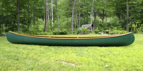 Old Town Canoe Wood and Canvas 16 Foot Guide Model