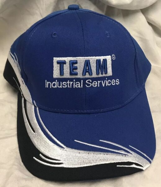 adjustable heavily embroidered TEAM INDUSTRIAL SERVICES never used outdoor hat $18.00