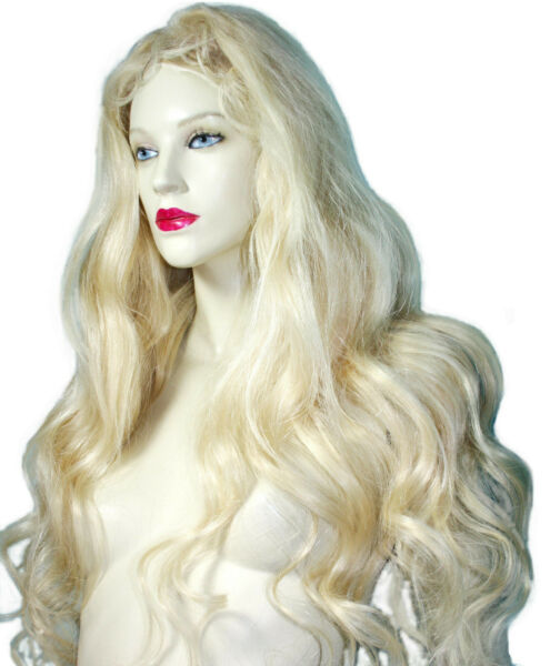 Front Lace Wig Wigs Remi Remy Indian Human Hair Light Blonde Premium Custom Made