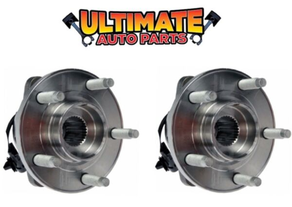 Front Wheel Bearing Hubs (Rear Disc Brake) Pair Left & Right for 08-10 Chevy HHR
