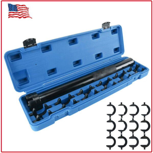 Inner Tie Rod End Remover and Install Tool w. 12pcs Open Jaw Drivers Adjustable
