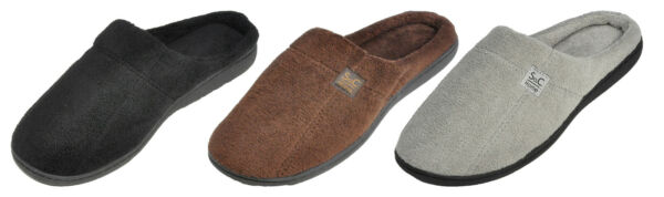Maschismo Men's Slippers Cozy Open Back Anti-Slip Winter House Shoes TPR Sole $9.99