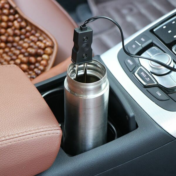 Water Heater Car Immersion Coffee Tea 12 V Electric Portable Auto Hot Boiler c
