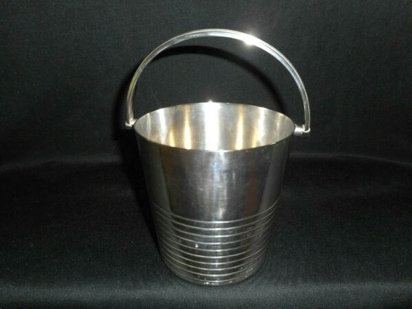 Antique Elkington England Silver Plated Champagne Handled Cooler Ice Pail