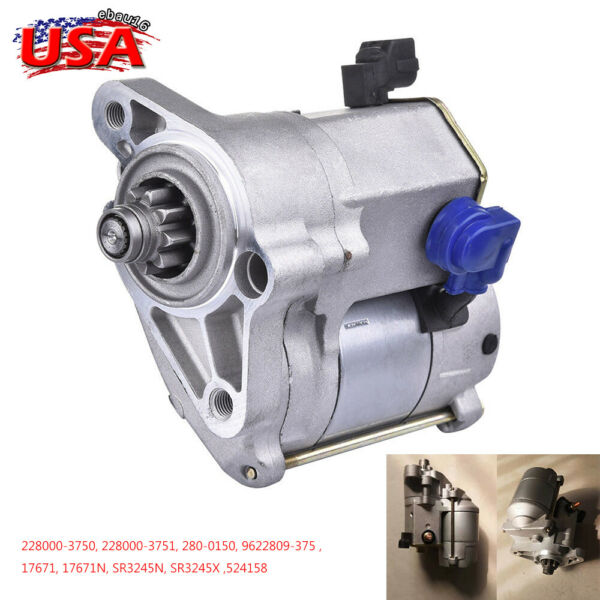 New Starter for Toyota Tacoma 4Runner T100 Tundra Puckup Truck 3.4L 17671 524158