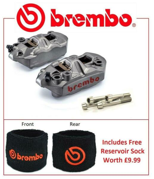 Brembo M4 Front Brake Calipers To Fit Kawasaki ZX10R 2004 - 2007