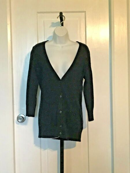 Tommy Sweater Navy Wool Nylon Voscorse Size Small $12.75