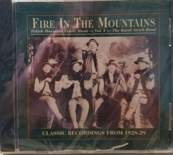 Karol Stoch Band Fire In The Mountains Polish Mountain Fiddle Music Vol. 1 CD $2.00