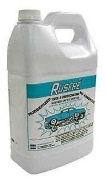 RUSFRE Automotive Spray-On Rubberized Undercoating Material 1-Gal. RUS-1020F6