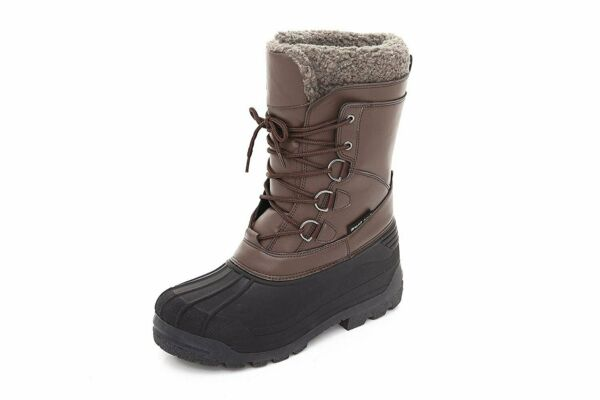 Sand Storm Mens Insulated Winter Snow Boots - Lace-up Closure Comfortable...
