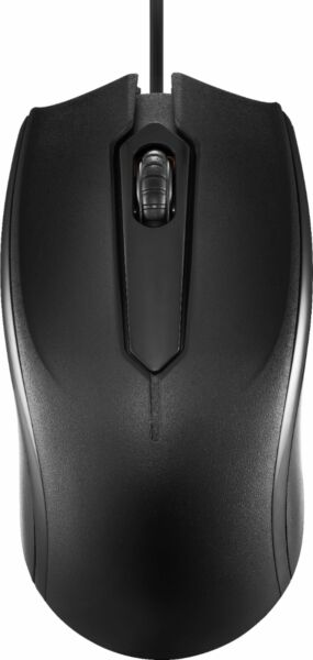 Dynex Wired Optical Mouse Black