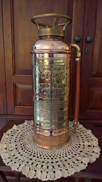 Domestic Pony Antique Fire Extinguisher