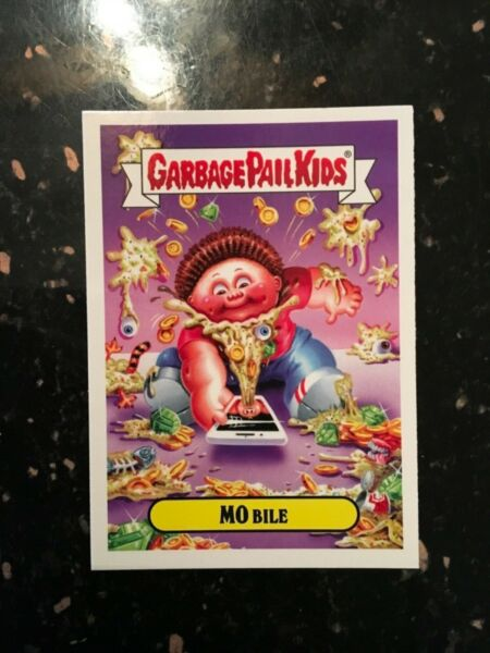 "2019 Garbage Pail Kids Revenge Of Oh! The Horror-ible ""MO Bile"" Promo Card"