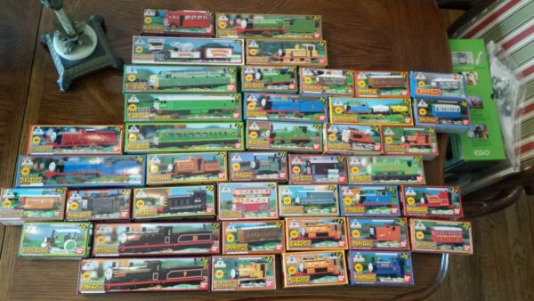 HUGE LOT of Thomas and Friends Bandai TECS Characters 41 pieces