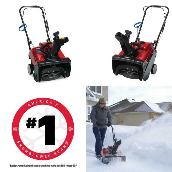Power Clear 518 Zr 18 In. 99Cc Single Stage Gas Snow Blower Walkway Patio