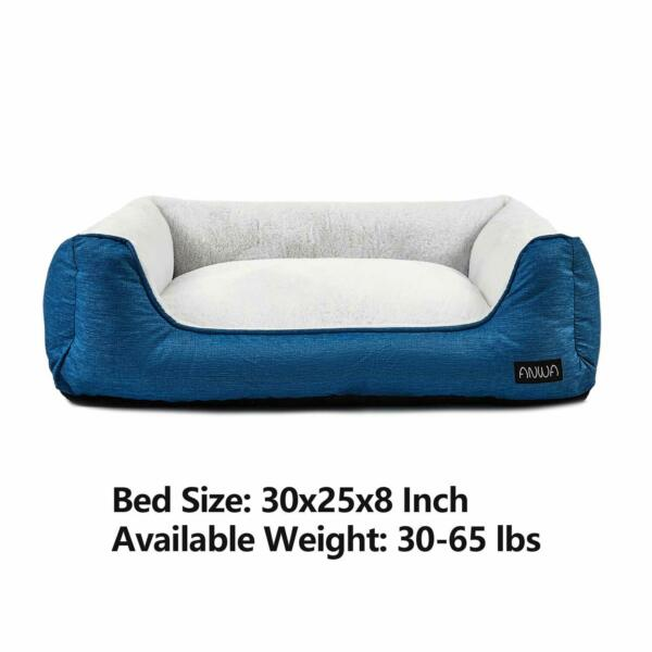 ANWA Comfortable Dog Bed Large Size Durable Dog Bed Machine Washable $27.95