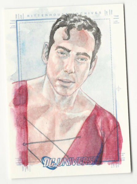 Plastic Man 2007 DC Legacy Universe Sketch Card SketchaFEX by Louis Small 1 1 $49.99