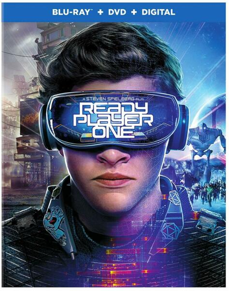 Ready Player One Blu-ray + DVD + Digital with Slipcover