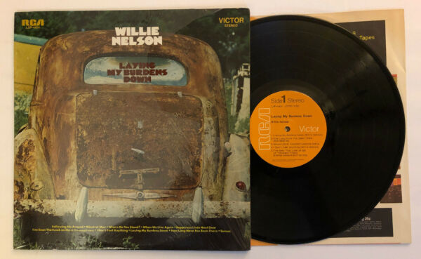 Willie Nelson - Laying My Burdens Down - 1970 US 1st Press in Shrink (NM-)