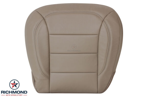 2012-2015 Mercedes Benz ML- Driver Side Bottom GENUINE Leather Seat Cover Tan