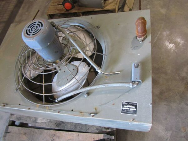 TRANE UNIT HEATER MODEL UHSA 354S 8A AAN TYPE 136 0115 1 USED $150.00