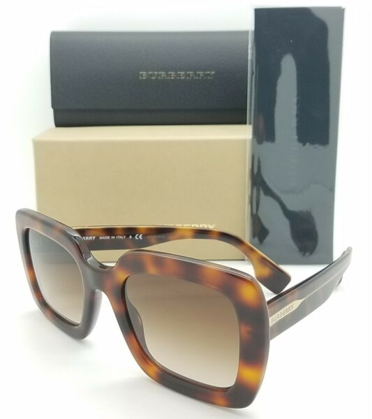 NEW Burberry Sunglasses BE4284 379013 52mm Havana Brown Gradient AUTHENTIC Women $161.99