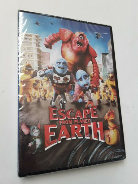 Escape From Planet Earth Dvd $7.97