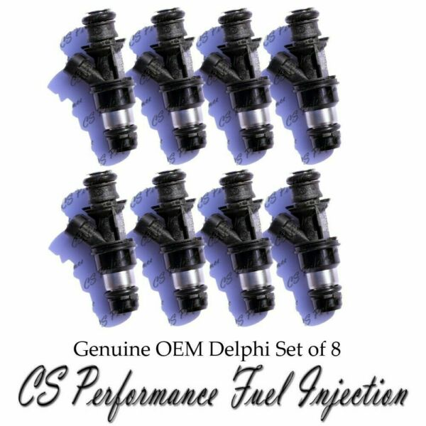 Delphi Fuel Injector Set for 2001-2007 Chevy Tahoe Express 4.8 6.0 V8