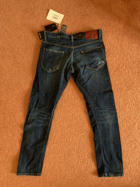 Authentic DSQUARED2 Jeans 50 Model S71LB0179 Brand new $249.00