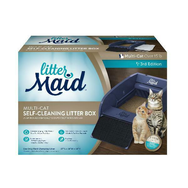 Littermaid Automatic Self Cleaning Litter Box Cat Pet Kitty Pan Scoop Multi Cats $213.64