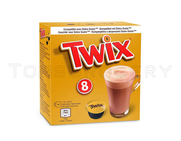 TWIX Chocolate Drink Nescafe Dolce Gusto Machine Compatible Capsules