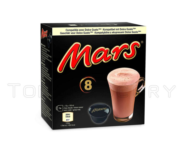 MARS Chocolate Drink Nescafe Dolce Gusto Machine Compatible Capsules