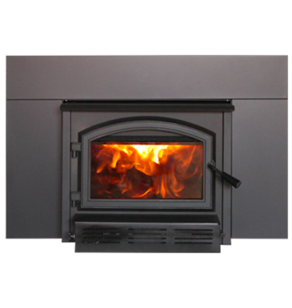 Empire Archway 1700 Wood Insert Fireplace with High Heat Ceramic Baffle
