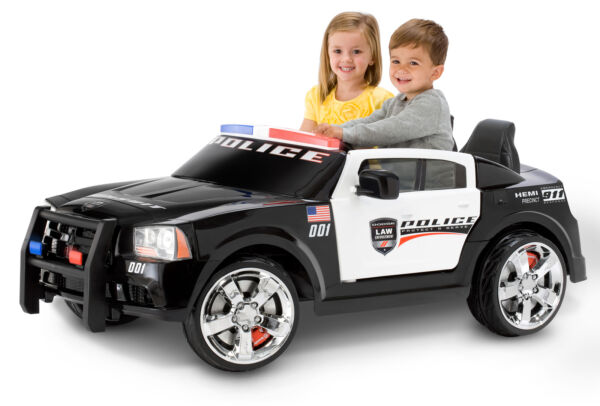 Kid Trax Dodge Pursuit Police Car 12 Volt Battery Powered Ride On $458.76